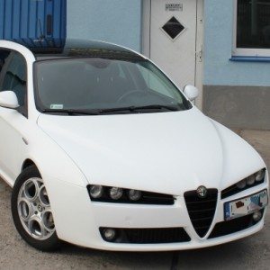 Alfa Romeo 159 White Mat Fol Tech Design
